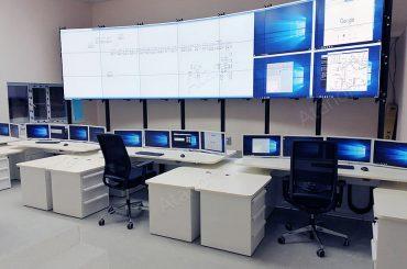 Оборудование ситуационного центра для «МегионЭнергоНефть»