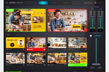 Приложение ATEN OnAir для работы с потоковым видео