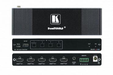 Новый коммутатор HDMI Kramer VS-411X