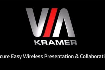 Улучшение качества видеоконференцсвязи на ноутбуке.  Kramer VIA Versa