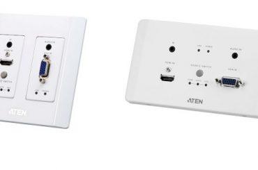 Компания ATEN представила новые HDMI & VGA HDBase передатчики