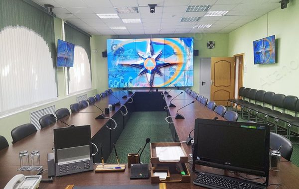 Модернизация AV-систем в ЦОД ГО ЧС Курской области
