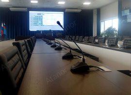 Оборудование конференц-зала для  ГМУ им. адм. Ф.Ф. Ушакова