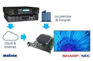 Sharp NEC Display Solutions Europe выпускает новый медиаплеер для Digital Signage