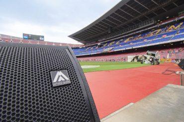 Акустика Amate Audio на стадионе «Камп Ноу» в Барселоне